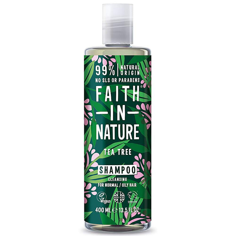Faith In Nature - Tea Tree Shampoo - 400ml