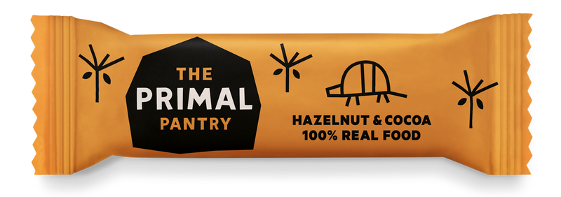 Primal Pantry - Hazelnut & Cocoa Raw Paleo Bar 18 pack