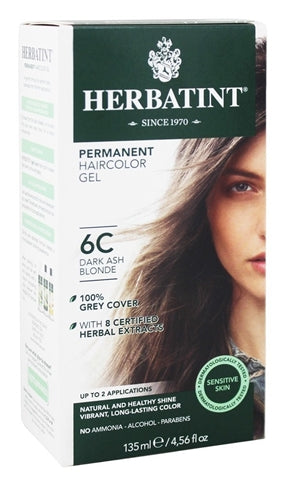 Herbatint Dark Ash Blonde 6C 1x150ml