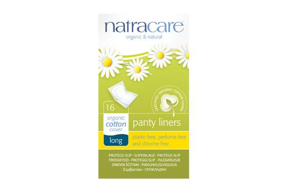 Natracare	Panty Liners Long Wrapped	10x16s