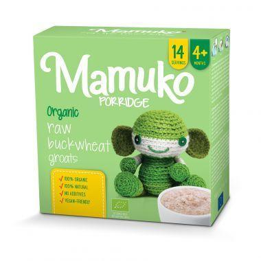Mamuko - Baby Porridge Raw Buckwheat Porridge 4m+  10x240g