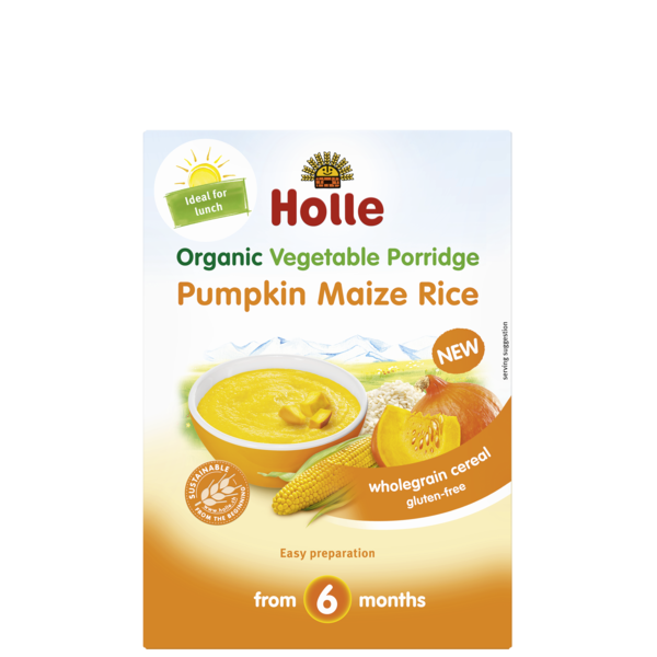Holle Baby	Pumpkin Maize Rice (Org)	6x175g