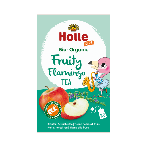 Holle Baby Fruity Flamingo Tea (Org) 8x20 Bags