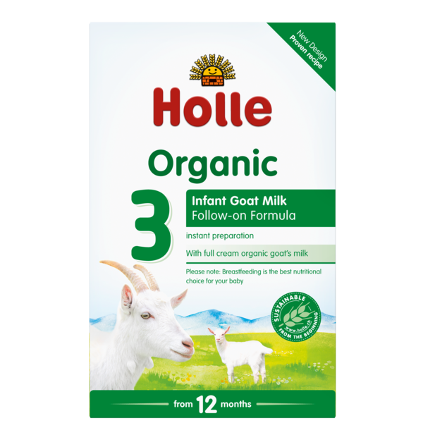 Holle Baby	Goat Milk Follow-on Formula 3 (Org)	6x400g