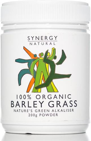 Synergy Barley Grass Powder (Org) 1x200g