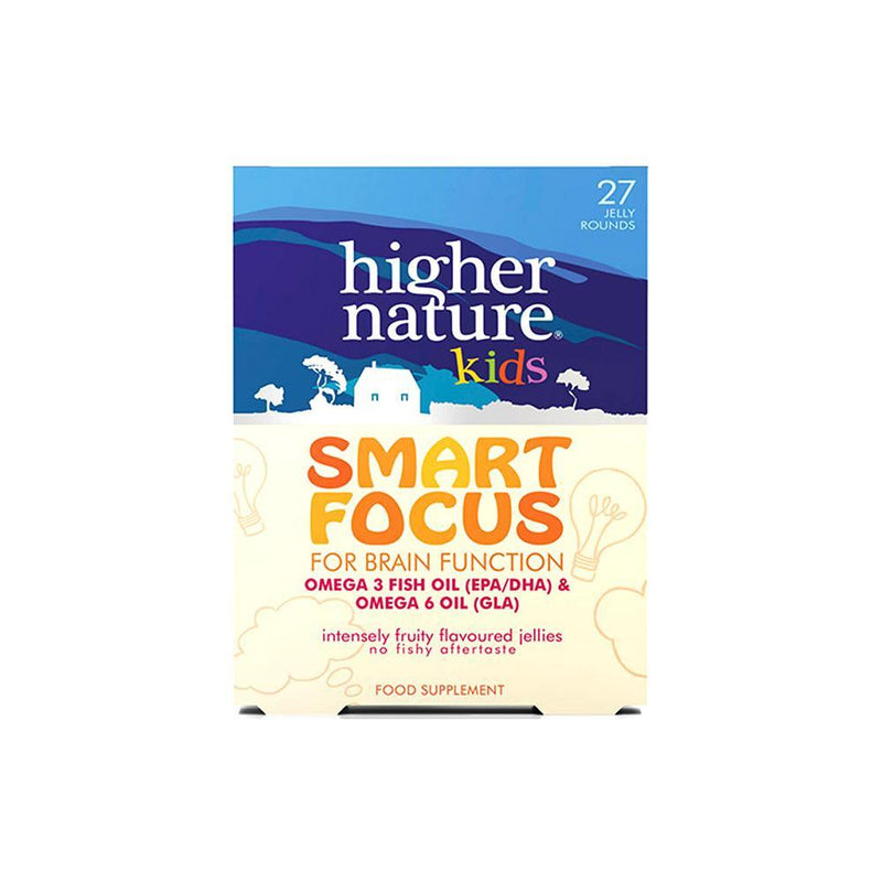Higher Nature - Smart Focus Kids Omegas Jellies