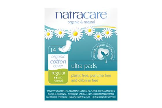 Natracare	Natural Pads - Regular	12x14Pce