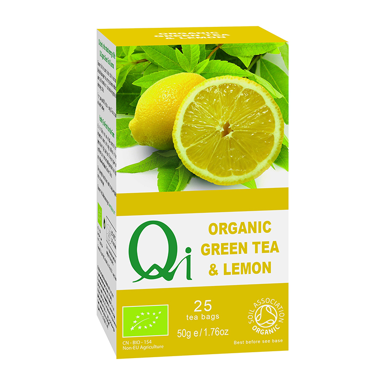 Qi Green Tea & Lemon (Org) 6x25 Bags