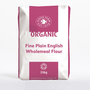 Bulk Flour - Doves Fine Plain Wholemeal Flour Or. 1x25kg
