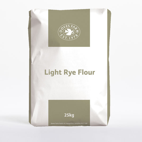 Bulk Flour - Doves Light Rye Flour (Org) 1x25kg