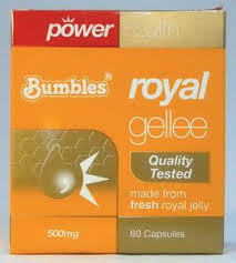 Power Health - Royal Gellee Caps 500mg 1x60s