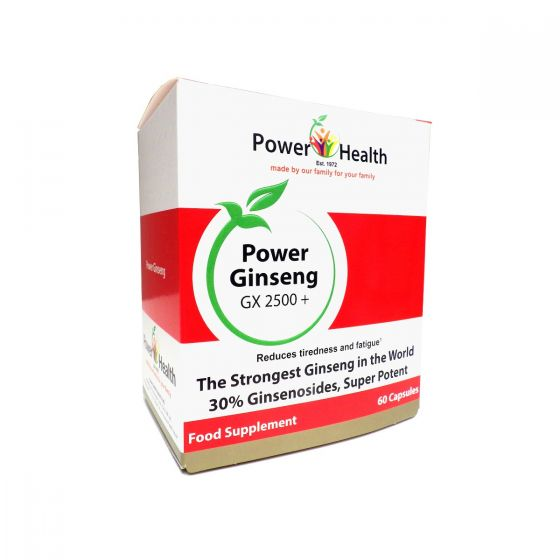 Power Health - Siberian Ginseng 100mg 1x30Caps