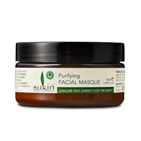 Sukin Purifying Facial Masque Jar 100ml