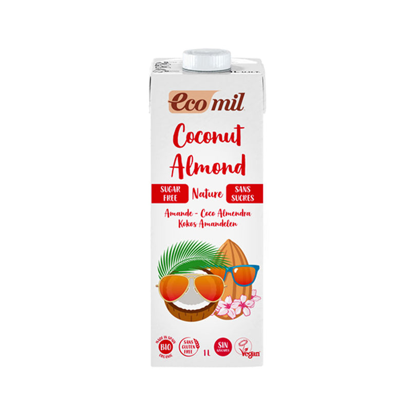 Ecomil - Coconut & Almond Milk SF (Org) 6x1L