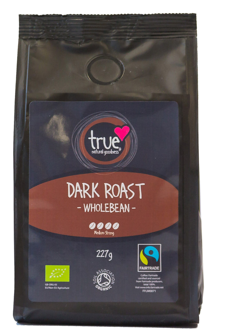True Natural Goodness - Dark Roast Whole Beans (Org) FT 6x227g