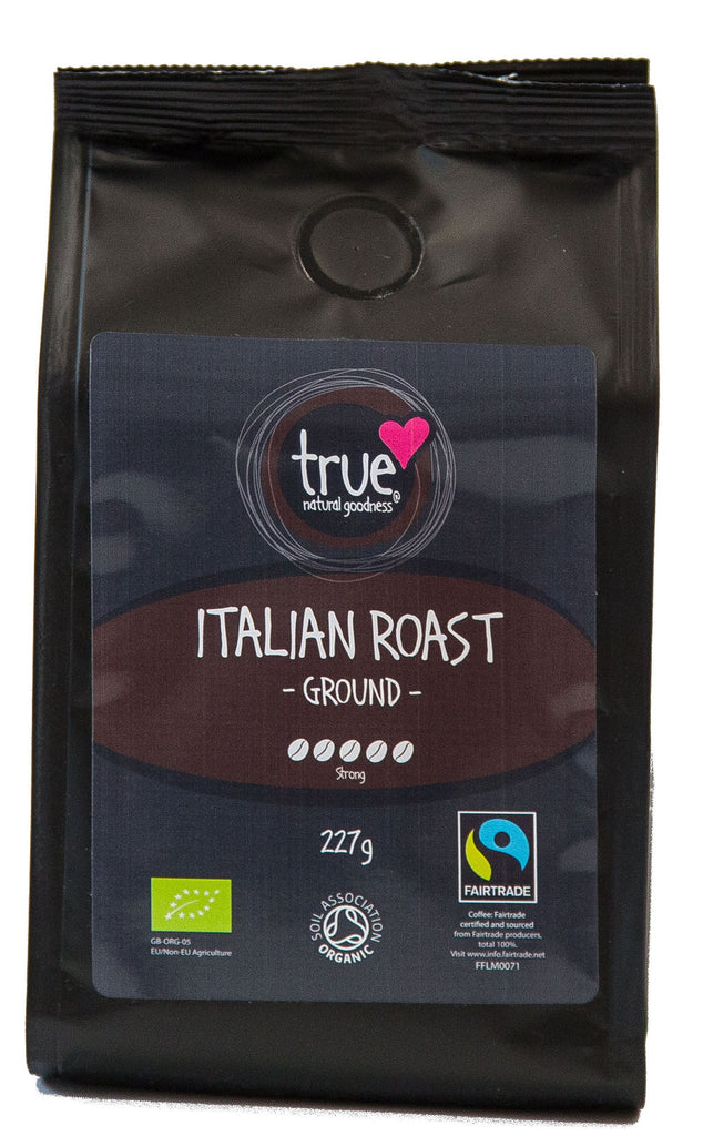True Natural Goodness - Italian Roast Ground (Org) FT 6x227g
