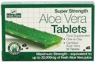 Optima - Aloe Vera Super Strength Tablets 1x60Tabs