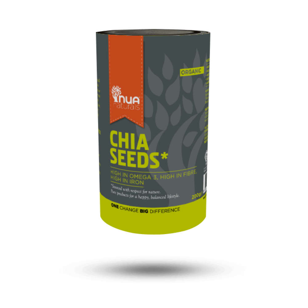 NUA Naturals - Chia Seeds (Org) 1x200g
