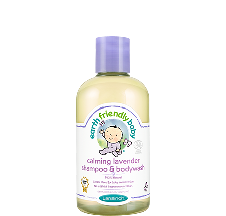 Earth Friendly Baby Lavender Shampoo Bodywash 251ml