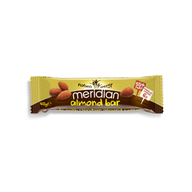 Meridian - Almond Bar 18x40g
