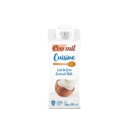 ECOMIL - Coconut Cooking Milk (Org) 24x200ml