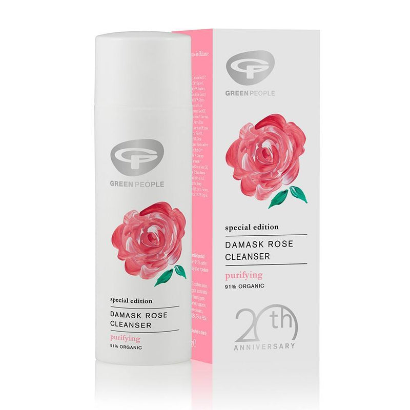 Green People - Damask Rose Moisturiser 50mL