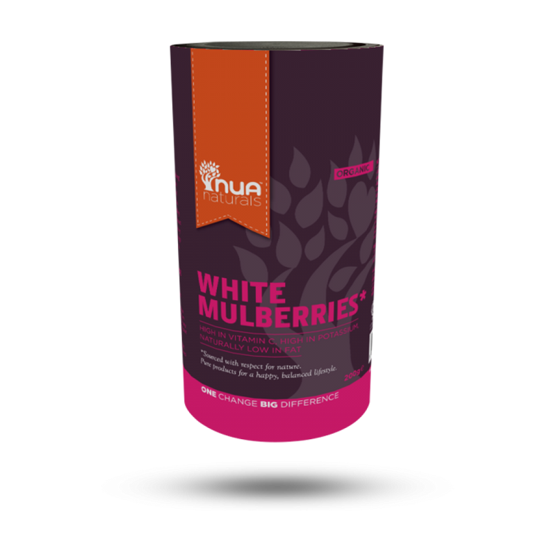 NUA Naturals - White Mulberries (Org) 1x200g