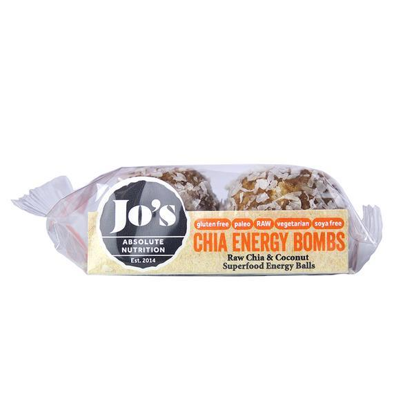 Jos Absolute Nutrition - Chia & Almond Energy Ball 15x50g pack