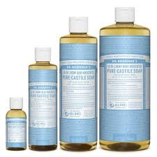 DR. BRONNER - 4 in 1 Baby Unscented Pump Soap 1x1.9L