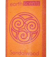 Earthworks Incense Sticks Sandalwood 6x10 pieces