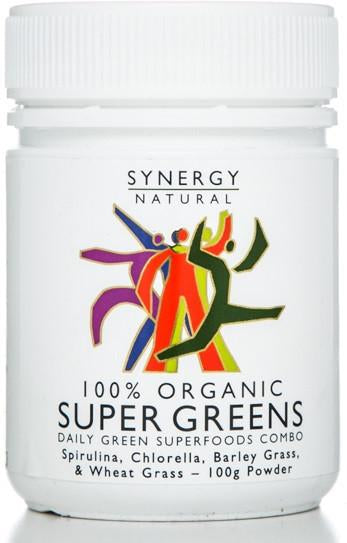 Synergy Super Greens Powder (Org) 1x100g