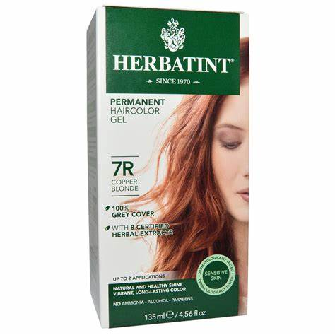 Herbataint Copper Blonde 7R 1x135ml