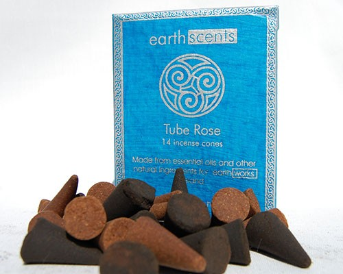 Earthworks Incense Cones Rose 1x14 pcs.