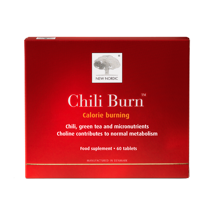 New Nordic Chili Burn Tablets 1x60pcs.