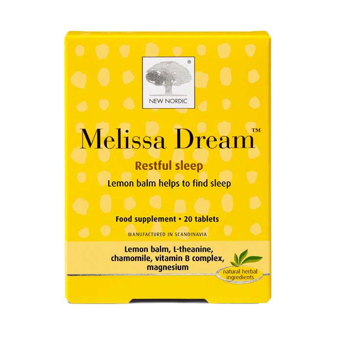 New Nordic Melissa Dream Tablets 1x40pcs.