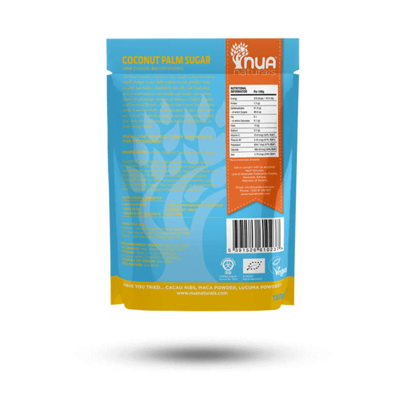 NUA Naturals - Coconut Palm Sugar Blonde (Org) 1x150g
