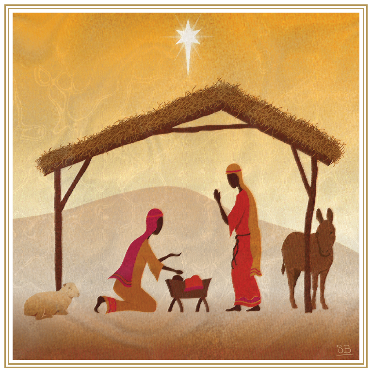 At The Manger & Journey to Bethlehem