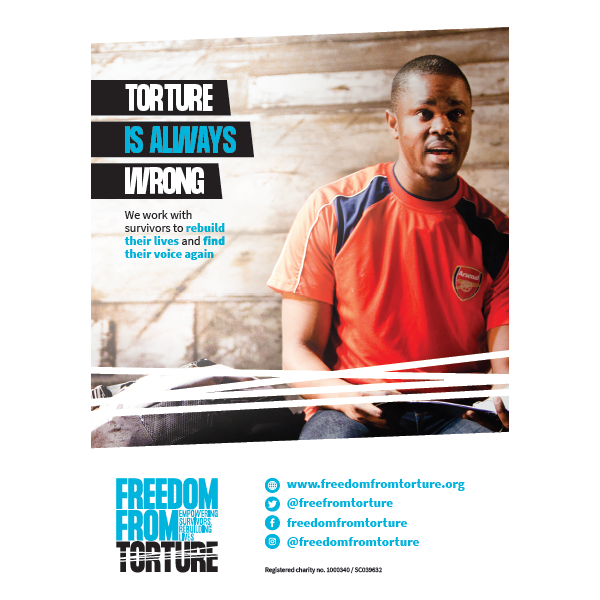 Campaign Poster - Torture is Always Wrong