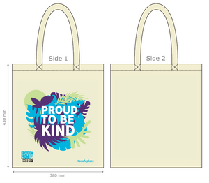 Proud To Be Kind - Tote Bag