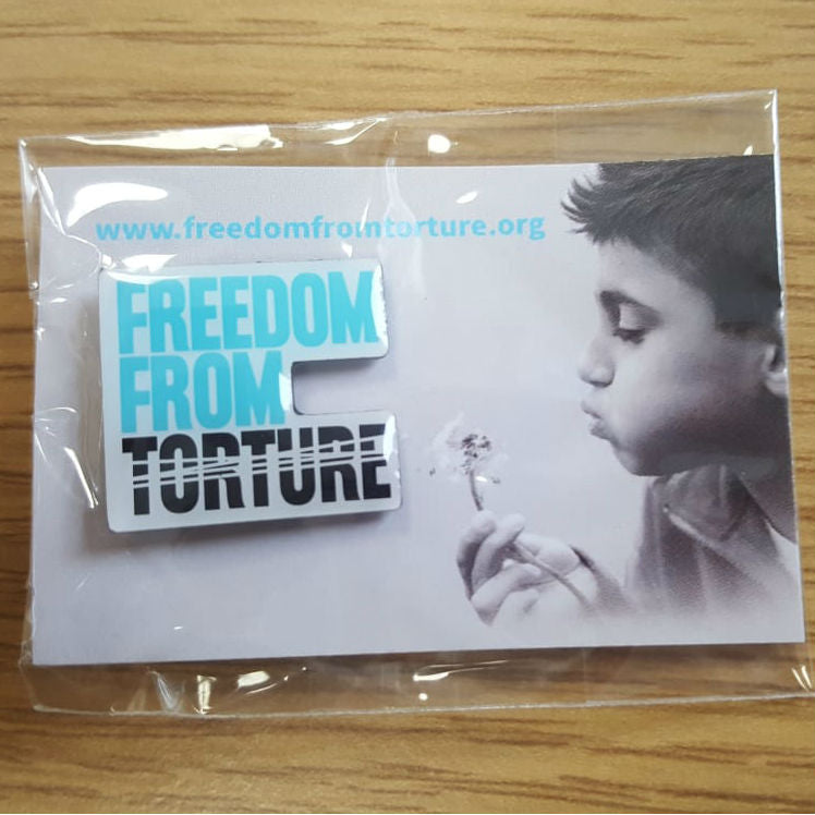 Freedom From Torture Pin Badge