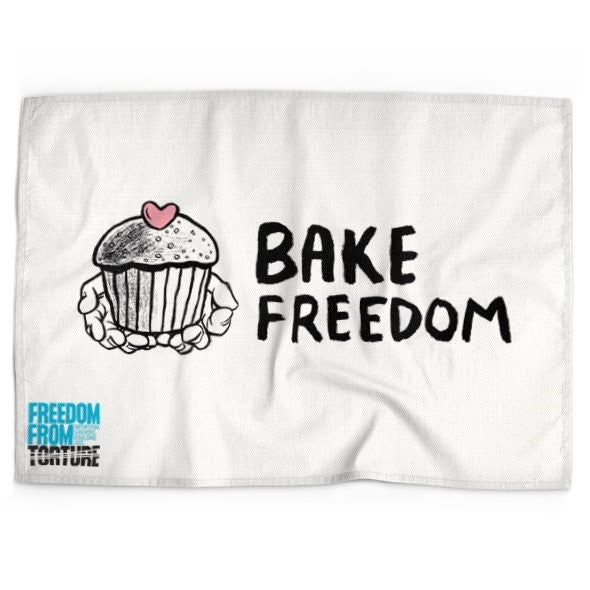 Bake Freedom Tea Towel