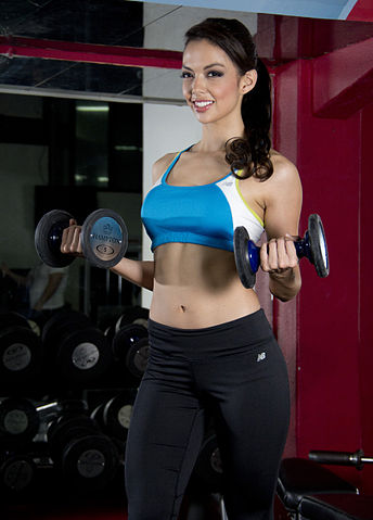 women fitness and supplements