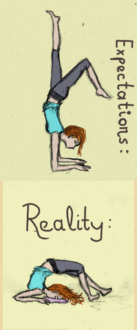 yoga expectations versus reality