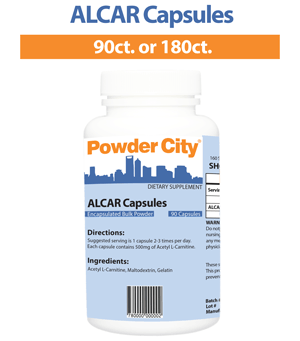 ALCAR Capsules (Discontinued)