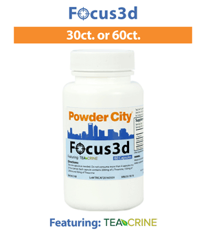Focus3d (Energy and Focus Supplement)