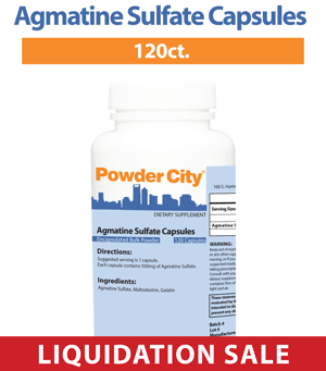 Day 10 - Agmatine Capsules (25% off)