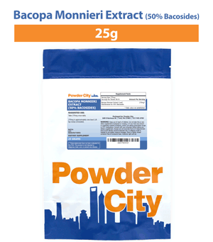 Bacopa Monnieri 50% Bacosides 25 Grams (Discontinued)