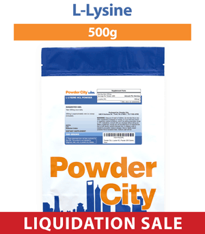 L-Lysine 500 Grams (Discontinued)