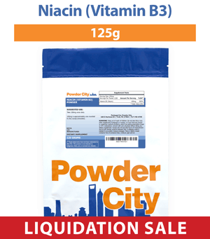 Niacin (B3) Powder 125 Grams (Discontinued)