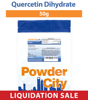 Quercetin Dihydrate Powder 50 Grams